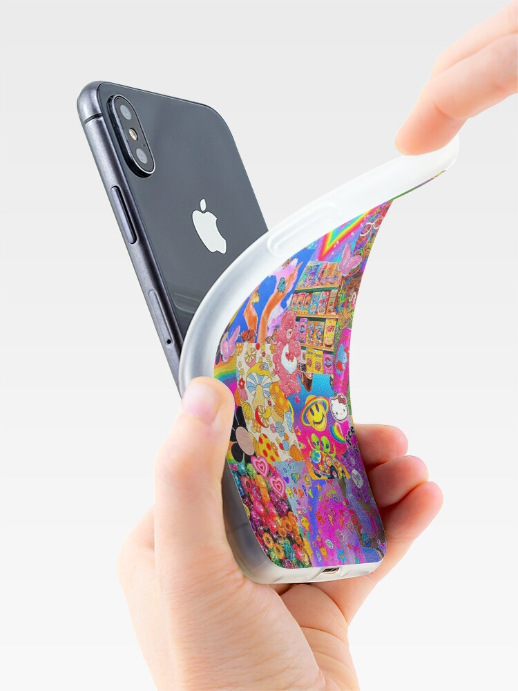 """Alternate view of """"indie"""" saturated phone case iPhone Case & Cover"""