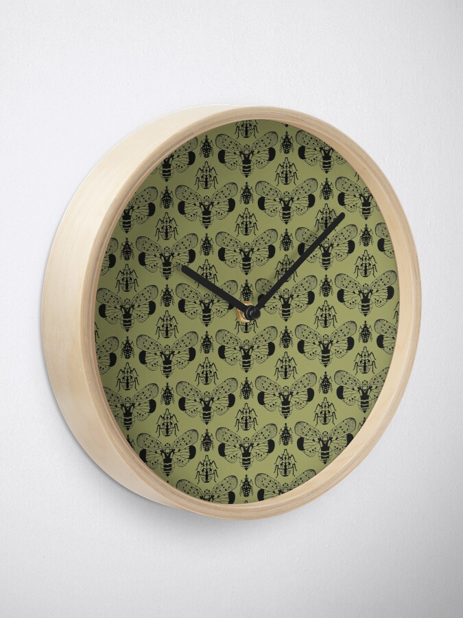 Alternate view of Spotted Lanternfly Stack Clock