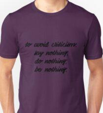 Critique T-Shirt