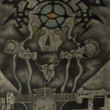 """Burning the Outer Circle"" by Kasigi03"