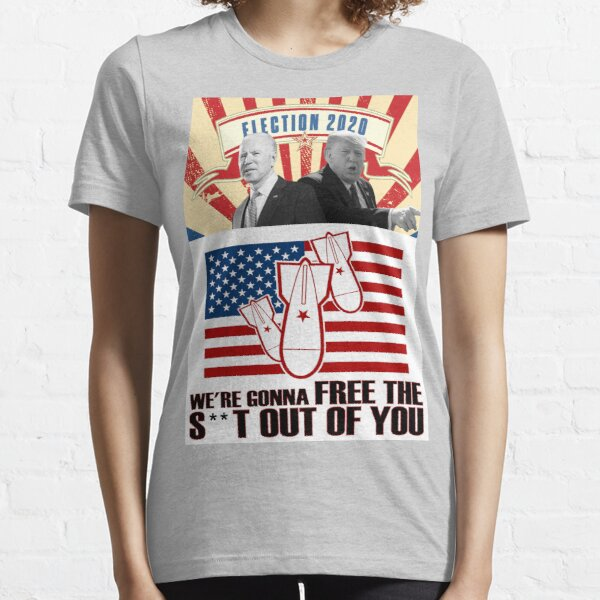 Election 2020. Print and fabric Essential T-Shirt
