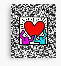 Keith BIG LOVE Canvas Print