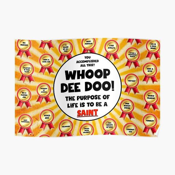 WHOOP DEE DOO Poster