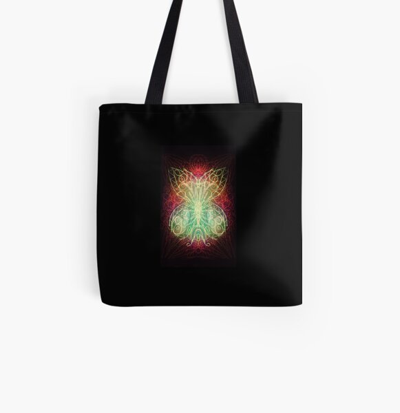 Butterfly Night All Over Print Tote Bag
