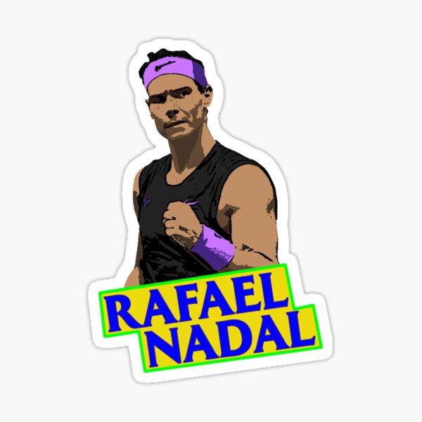 Affiche Rafa Nadal-Rafael Nadal Roland Garros Sticker