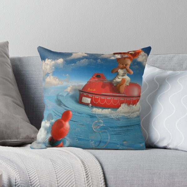 Laureate Letter from Apollo Throw Pillow