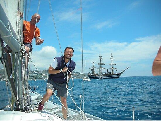 To my nephew Roger. To all those who love sailing. Velisti non solo per caso. S.TROPEZ-Francia.-- 5000 visualizzaz settembre  2013-RB EXPLORE 22 DICEMBRE 2011.... by Guendalyn