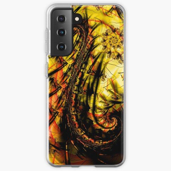 Yellow Symbol Art Design Samsung Galaxy Soft Case