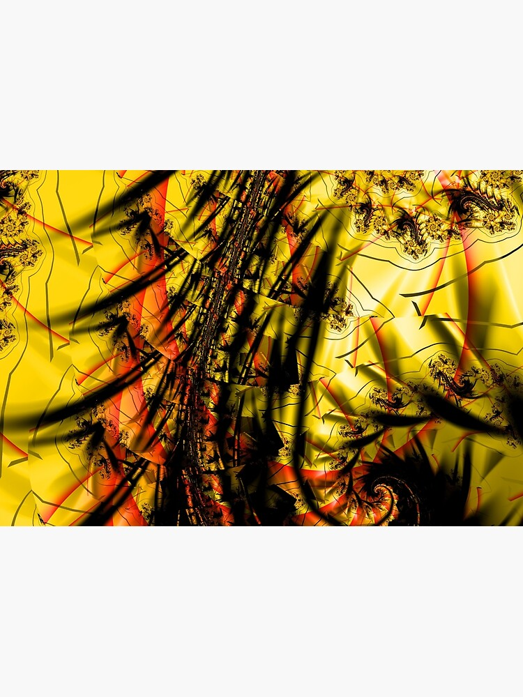 Yellow Symbol Art Design by garretbohl