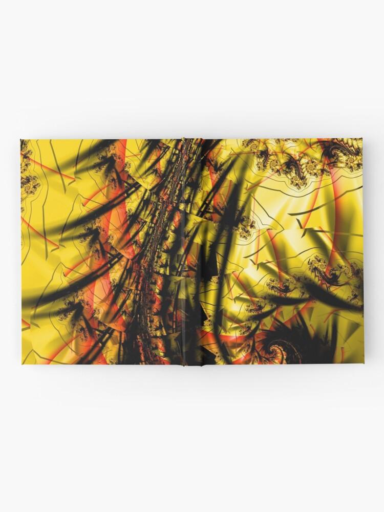 Alternate view of Yellow Symbol Art Design Hardcover Journal