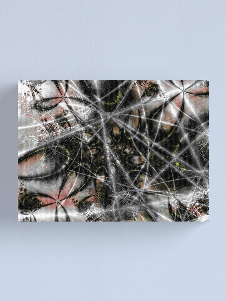 Alternate view of Spider Web Canvas Print
