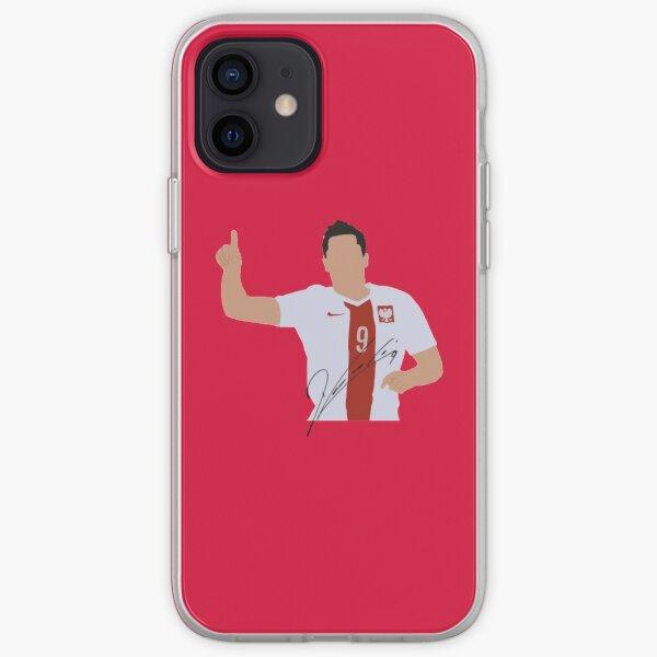Robert Lewandowski iPhone Soft Case