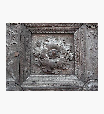 Portal of the Cathedral of Parma --- italy --- EUROPA- 2470 visualizzaz.maggio 2014-VETRINA RB EXPLORE 19 GIUGNO 2012 -- Photographic Print