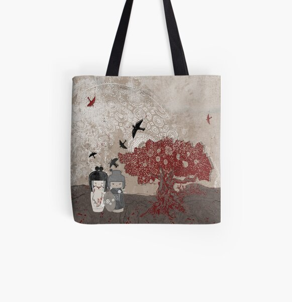 The Tourists All Over Print Tote Bag