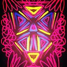 Tribal Neon by jlillustration