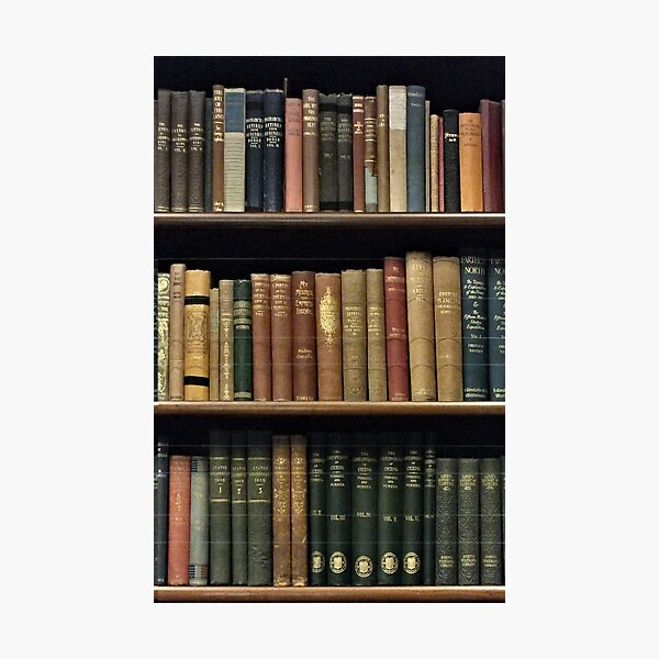 Endless Library (pattern) Photographic Print
