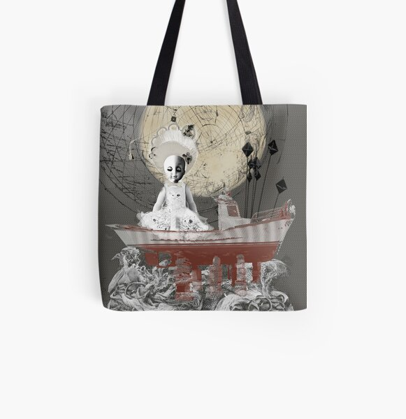 Judy Ship to Shore All Over Print Tote Bag