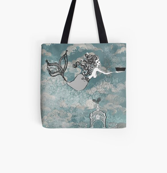 Eos with Titan's toy boat All Over Print Tote Bag