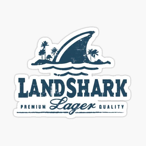Landshark Fishing Sticker