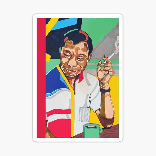 James Baldwin Sticker