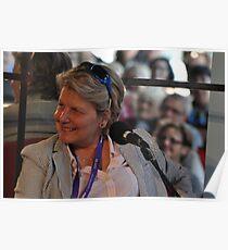 Sandi Toksvig @ Sydney Writers Festival, Australia 2014 Poster
