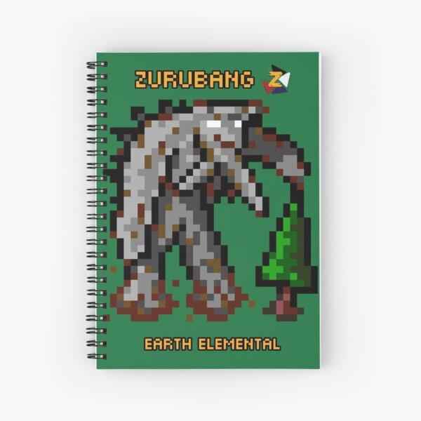 Earth Elemental - Zurubang Spiral Notebook