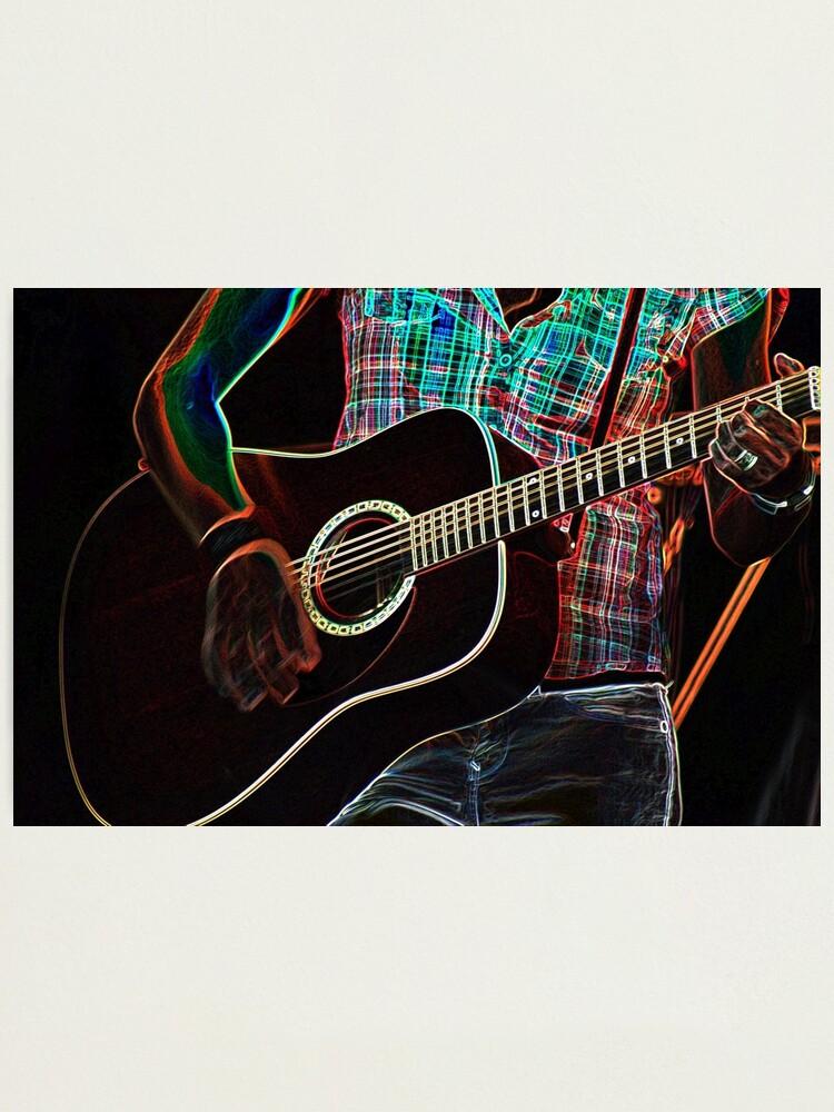 Alternate view of Guitar 1 Photographic Print