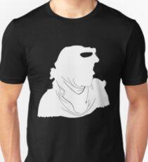 "Rey ""The Scavenger"" Silhoutte (White) Unisex T-Shirt"