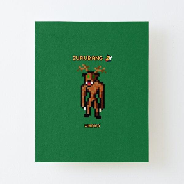 Windigo - Zurubang Canvas Mounted Print