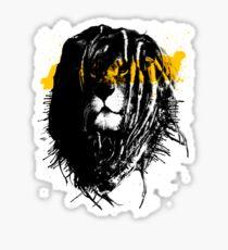 Lion rasta Sticker