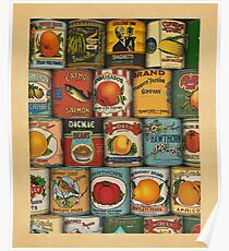 Canned Poster
