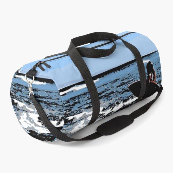 Surfs Up Surfer Girl Duffle Bag
