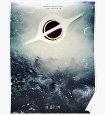 Black Hole Fictional Teaser Movie Poster Design Poster