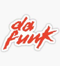 Da Funk Sticker