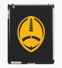 Gold Vector Football iPad Case/Skin
