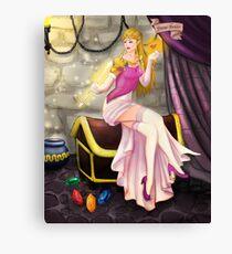 Princess Zelda Pinup Canvas Print