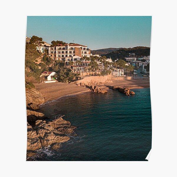 Costa Brava Sunrise Poster