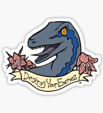 Inspirational Dinosaur Sticker