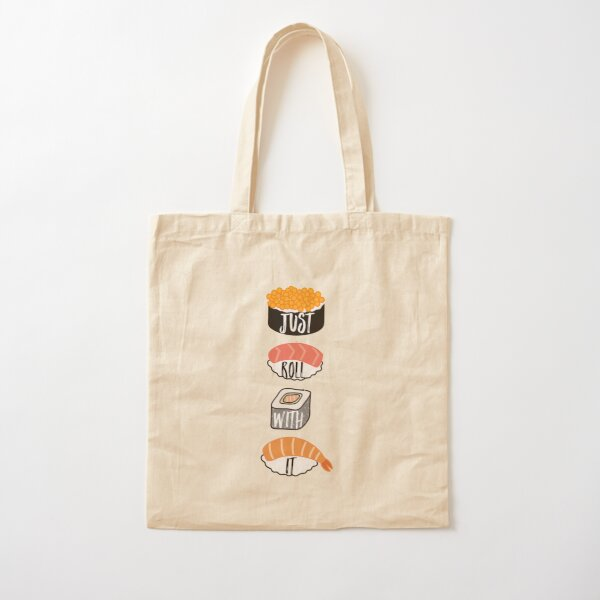 Just Roll With It Cotton Tote Bag