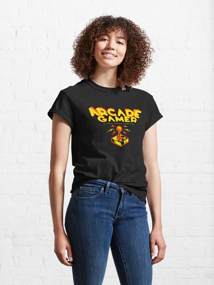 Alternate view of Arcade Gamer Classic T-Shirt