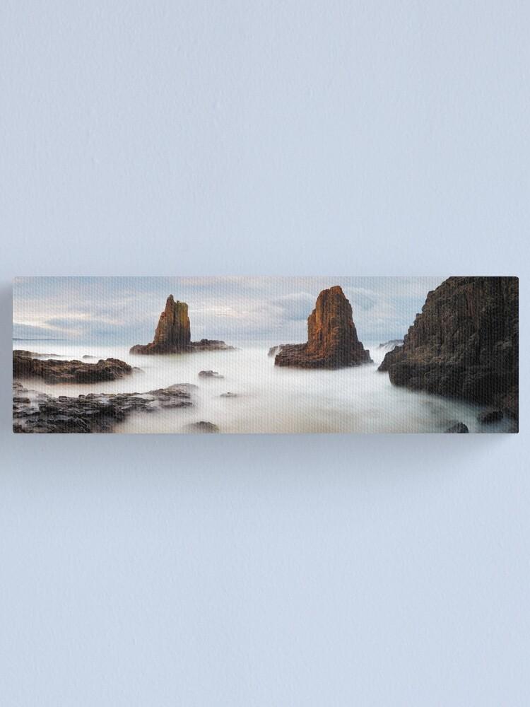 Alternate view of Cathedral Rocks, Kiama, New South Wales, Australia Canvas Print