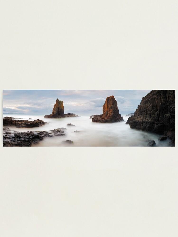 Alternate view of Cathedral Rocks, Kiama, New South Wales, Australia Photographic Print