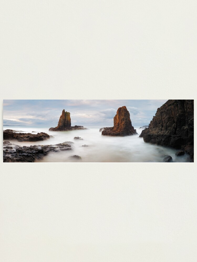 Alternate view of Cathedral Rocks, Kiama, New South Wales, Australia Photographic Print