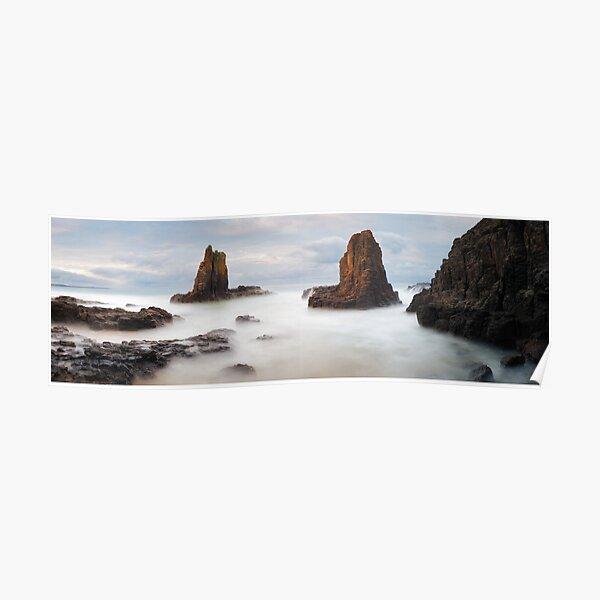Cathedral Rocks, Kiama, New South Wales, Australia Poster