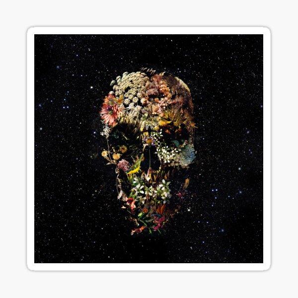Smyrna Skull Sticker
