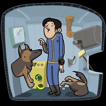 Dogmeat found a Glitch! by Aniforce