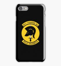 "561st Fighter Squadron ""Wild Weasels"" iPhone Case/Skin"