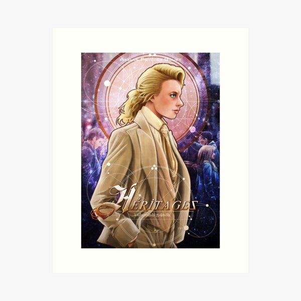 Heritages cover Art Print