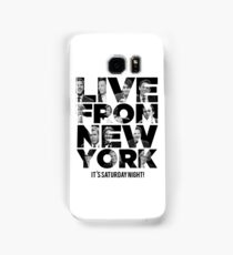 Live From New York, It's Saturday Night - Saturday Night Live Samsung Galaxy Case/Skin