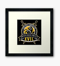 Evil League of Evil Framed Print